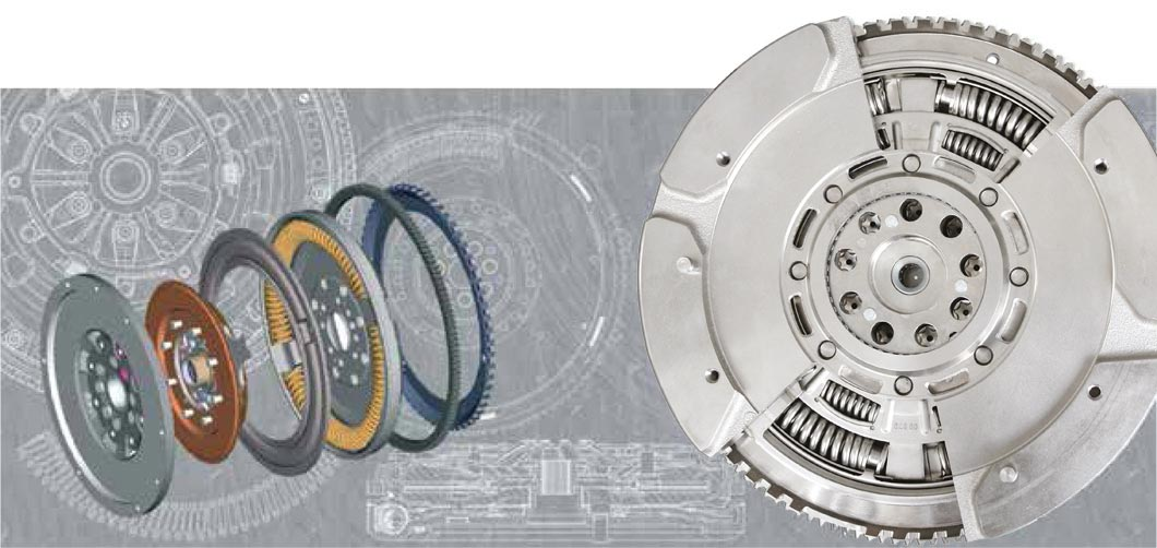 Flywheel (DMF) 415.0467.10 from LUK for all clutch brands.
