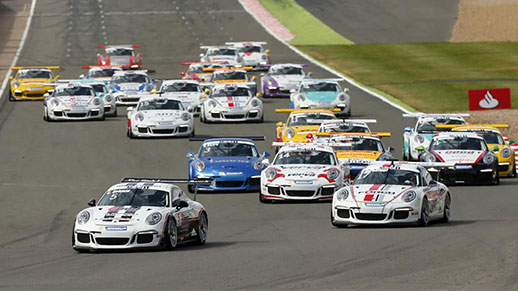 SACHS supplies the racing clutches for the Porsche Supercup cars