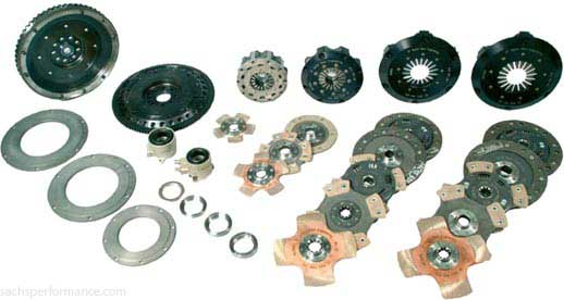 The Racing clutch range comprises 4 different clutch diameters