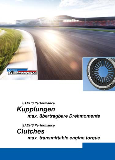 SACHS Performance pressure plates. Information about maximum transmittable motor torque.