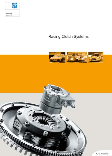 Order form for ZF Motorsport SACHS RCS racing clutch. Developed specifically for racing.