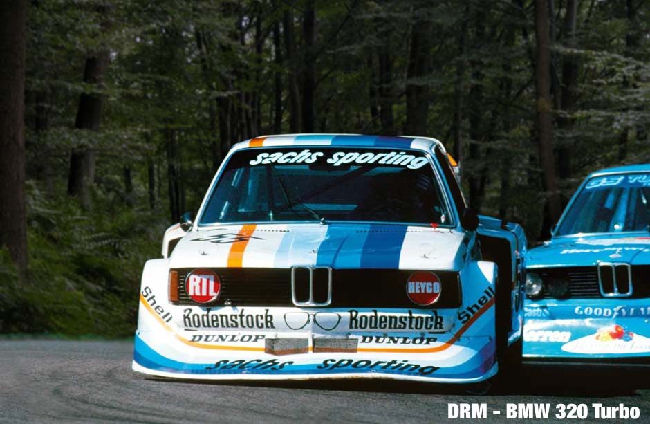 SACHS BMW Turbo with driver Harald Ertl at the 1978 German Motorsport Championship.