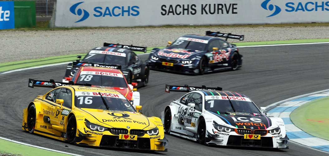 SACHS Performance Clutch from ZF-Motorsport at the DTM.