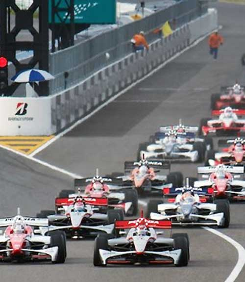 ZF Motorsport in de Formula Nippon Japan, sinds 2013 Super Formula.