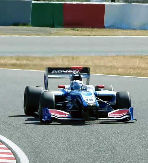 ZF Motorsport in the Japanese Super Formula Motorsport race series.