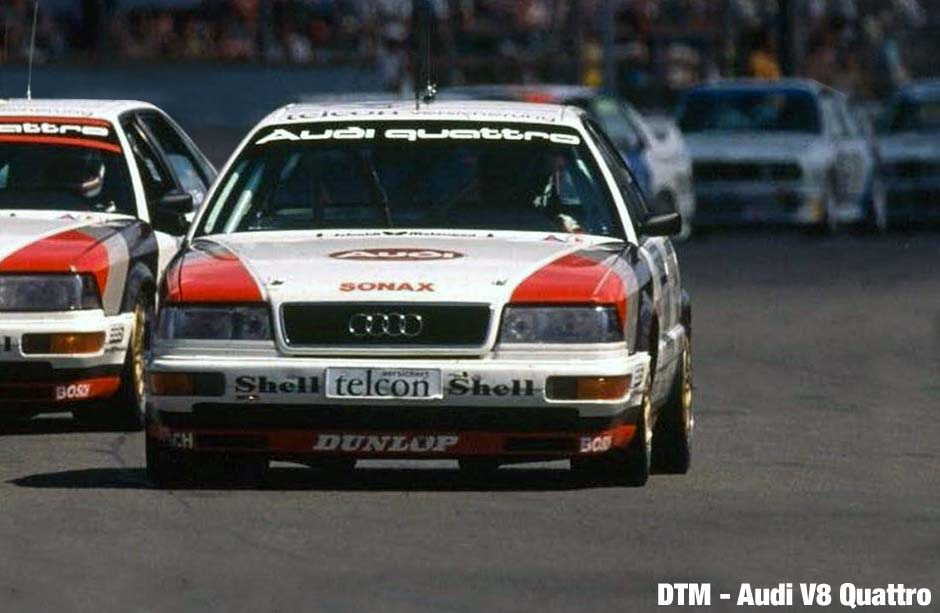 Audi V8 Quattro at the DTM 1990