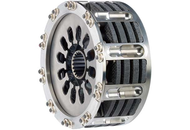 SACHS carbon clutch for Formula 1 racing cars.