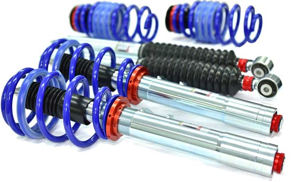 Coilover suspension for Audi S5.
