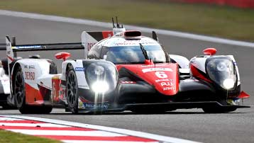 Toyota TS050 with ZF SACHS racing clutch in Le Mans.