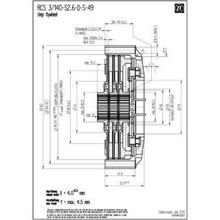 Racing Clutch Rcs3 140 H S2 6 S 49
