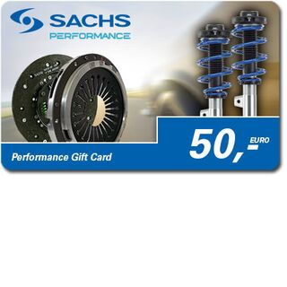 Carte cadeau Performance SACHS 50 Euro