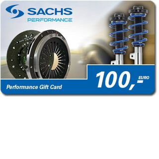 SACHS Performance Gift Card 100 Euro