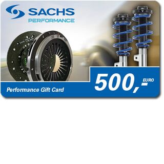SACHS Performance Gift Card 500 Euro